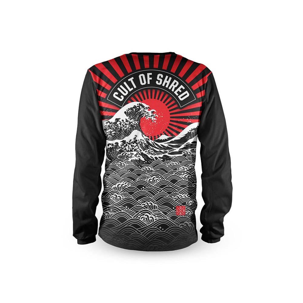 Camiseta bicicleta manga larga hombre Loose Riders 420 Rising Sun