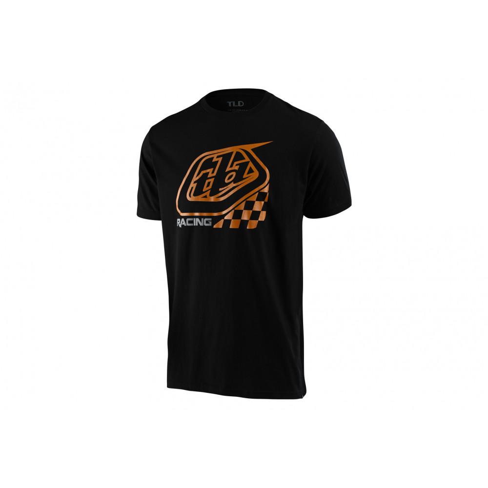 Troy Lee Camiseta Precision Negra 2020 Camiseta Hombre