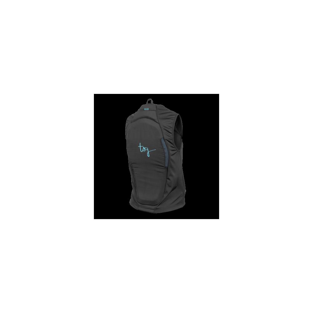 TSG Backbone Vest WMN A Black Protecciones Snowboard Mujer 2020