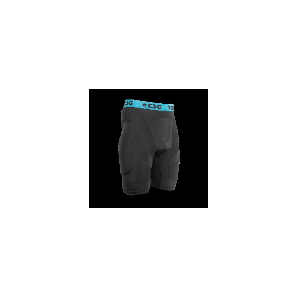 TSG Crash Pant A Black/Blue Protecciones Snowboard Unisex 2020