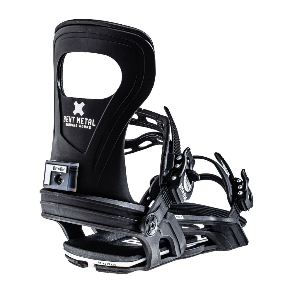 Fijación Snowboard Unisex Bent Metal Bolt negra 2022