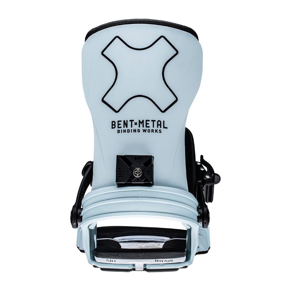 Fijación Snowboard Mujer Bent Metal Stylist Azul 2022