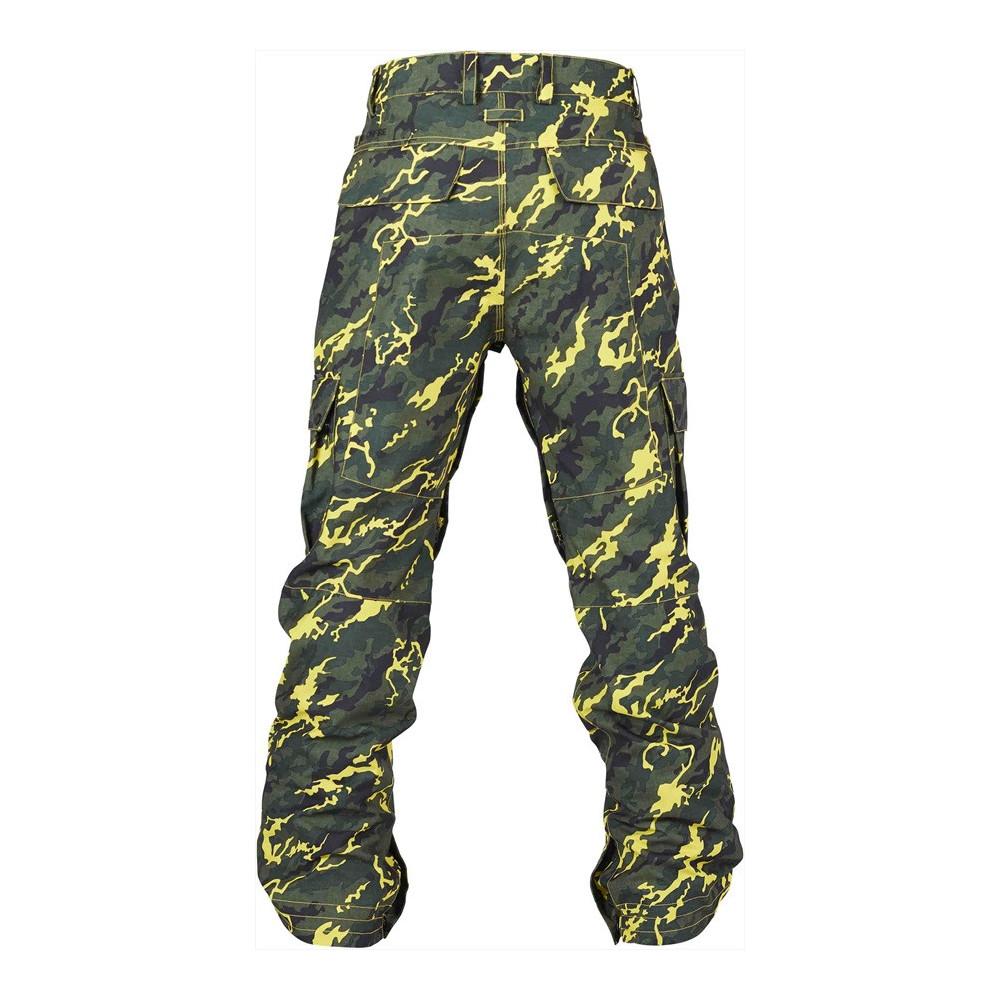Bonfire Tactical Pant Camo Yellow Pantalón Snowboard Hombre 2020