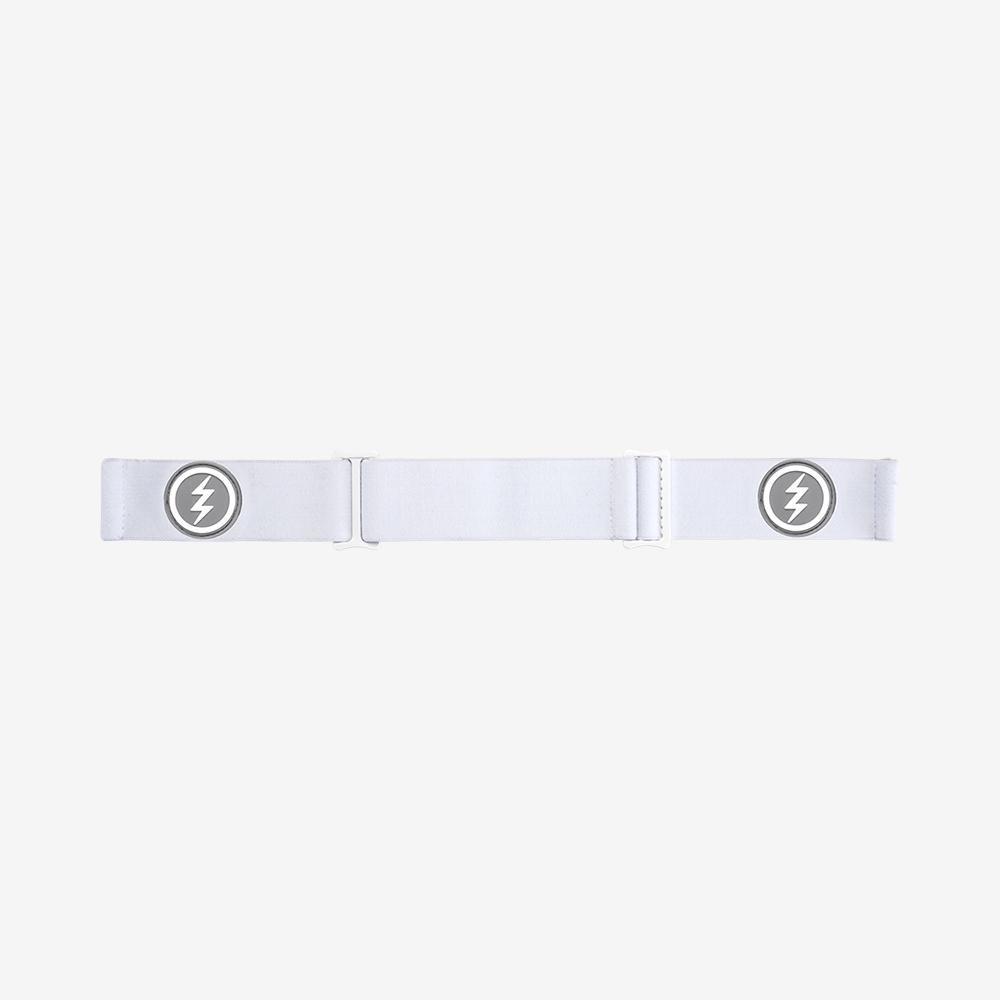 Electric EGG Matte White Brose/Pink_Chrome + Bonus Lens 2020
