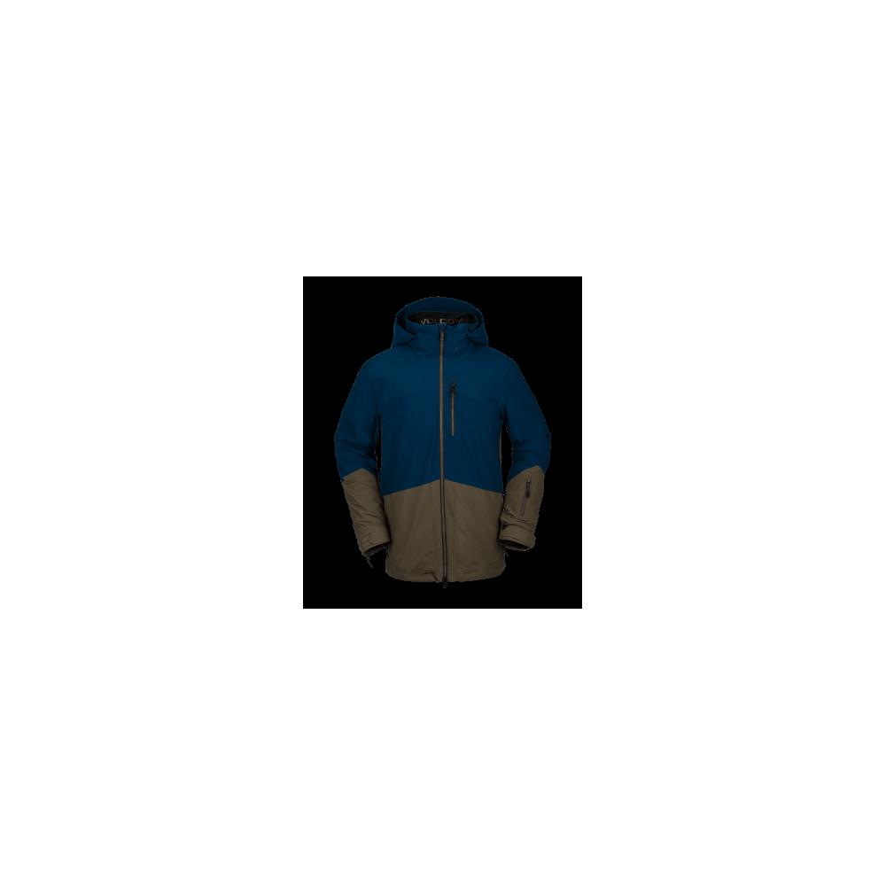 Volcom Bl Stretch Gore Jacket Blue 2021