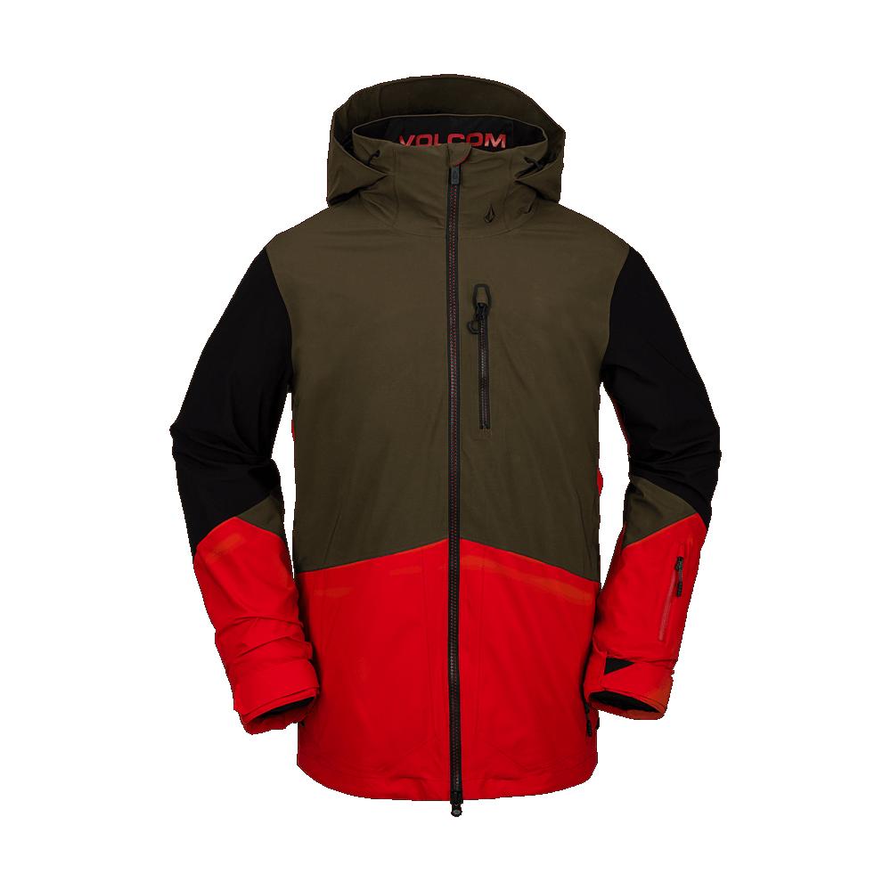 Volcom Bl Stretch Gore Jacket Red 2021