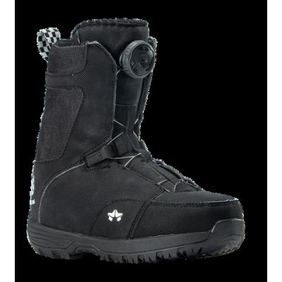 Rome Minishred Boots Black