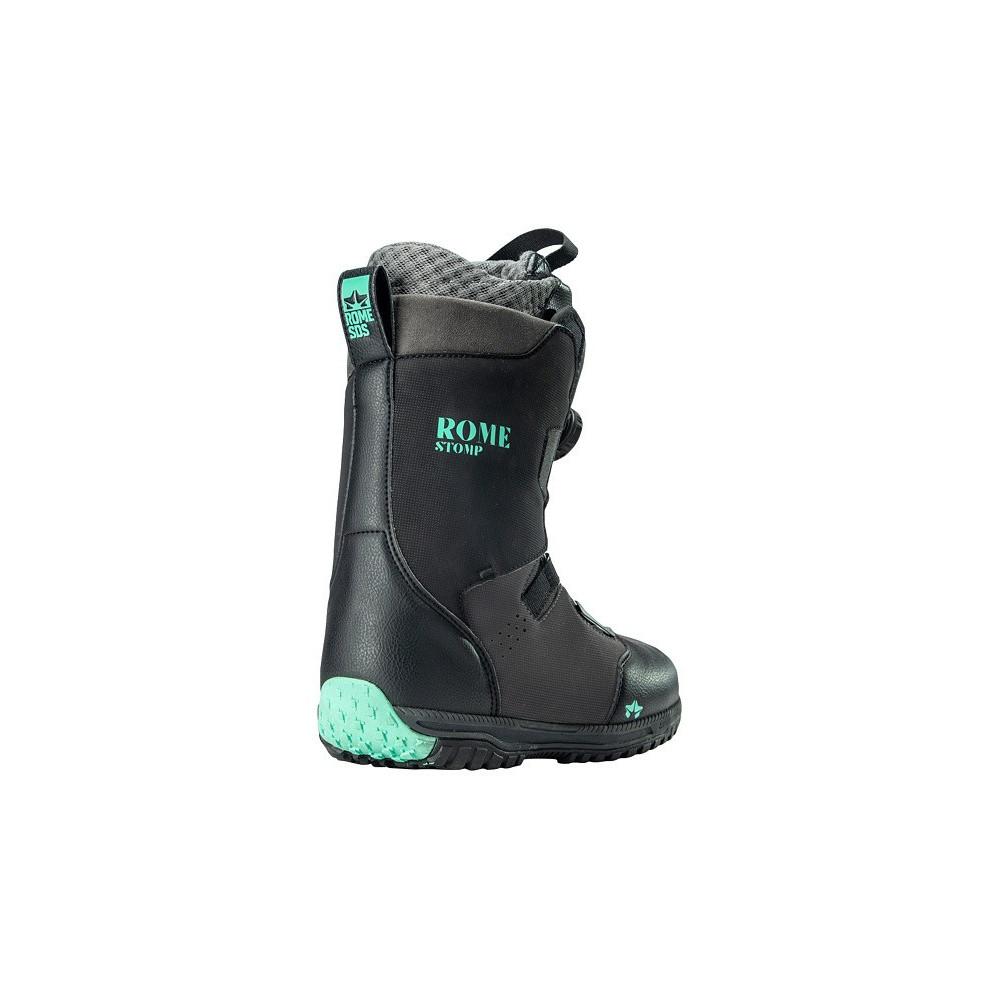 Rome W´Stomp Black Mint 2020 Botas Snowboard
