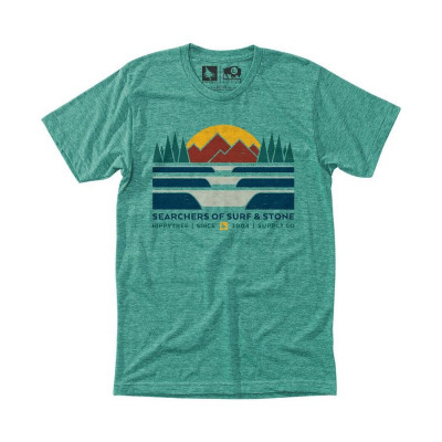 HippyTree LandForm Tee Green