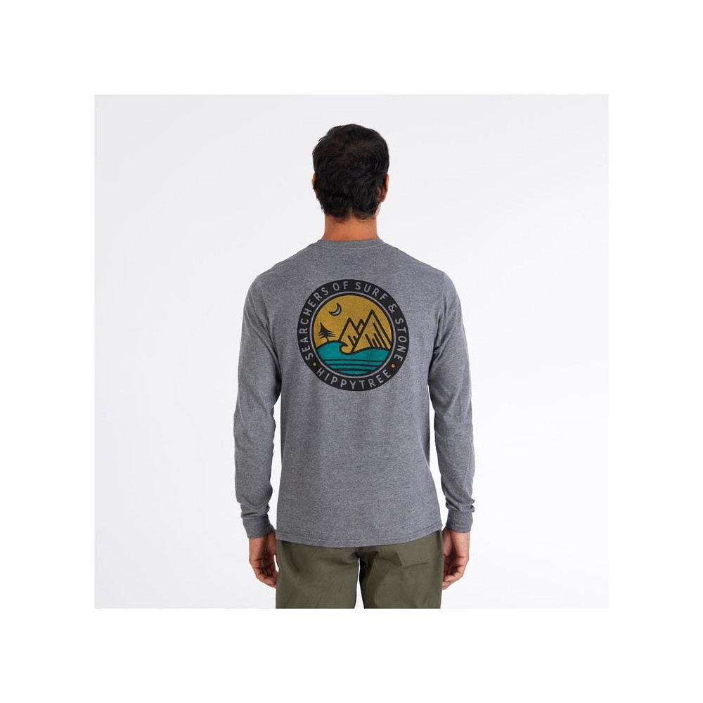 HippyTree Southpoint L/S Tee Heather Grey