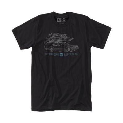 HippyTree Wagon Tee Black