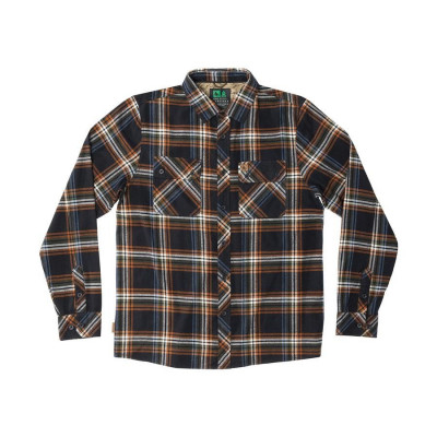 HippyTree Signal Flannel Black
