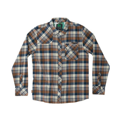 HippyTree Gorman Flannel Brown