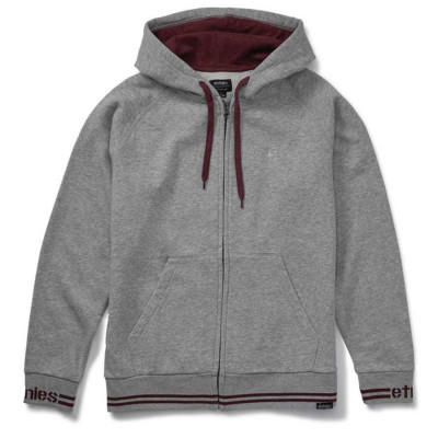 Etnies Johnson Zip Hooded Grey