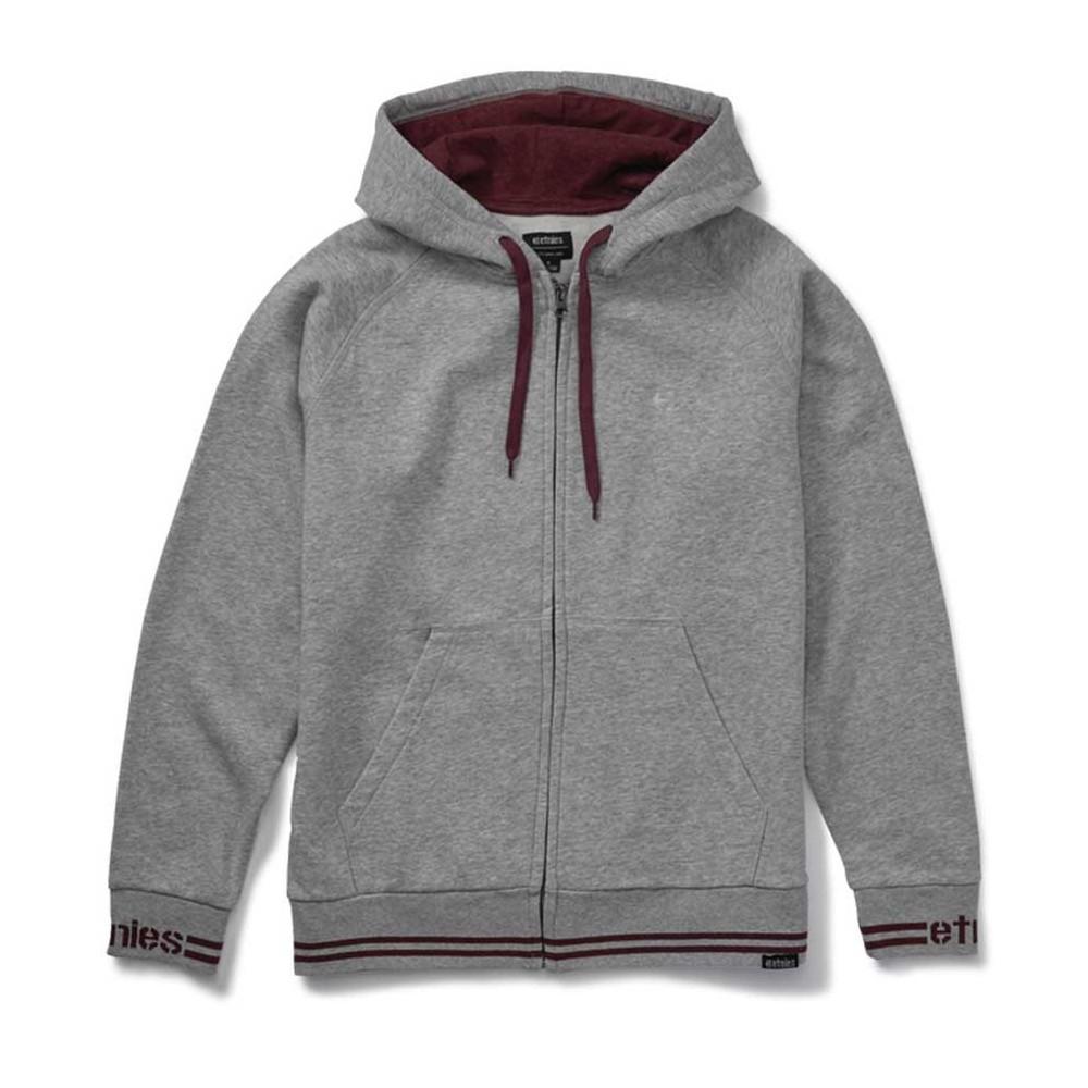 Etnies Johnson Zip Hooded Grey