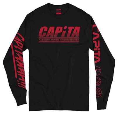Capita Factory L/S Tee Black