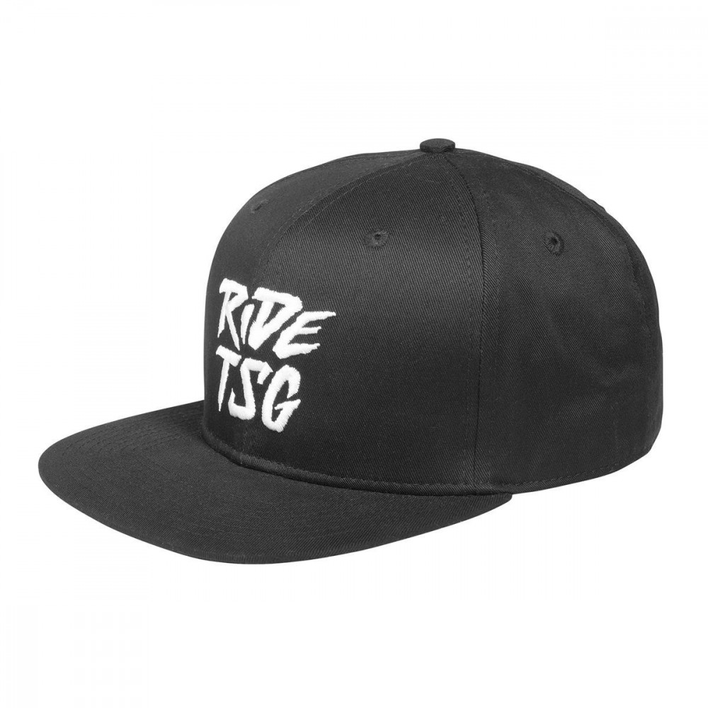 TSG Snapback Cap Black