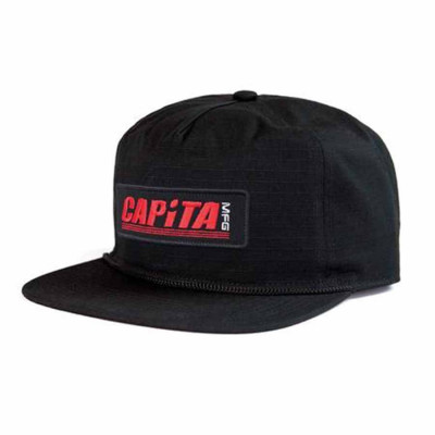Capita MFG Cap Black