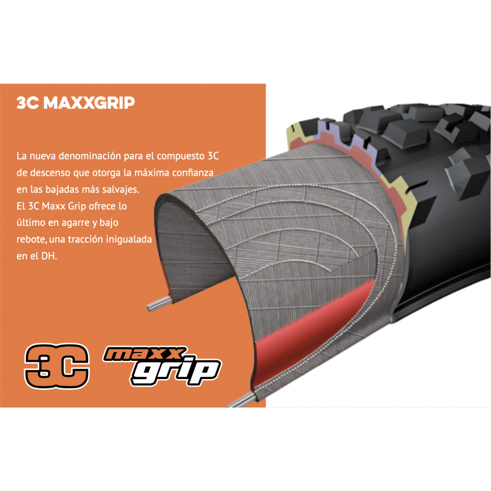 Maxxis Dissector 29X2.40 WT 3CG/DH/TR Cubierta Descenso