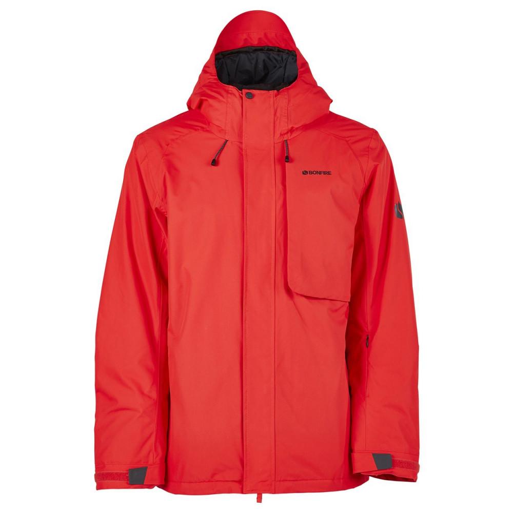 Bonfire Strata Jacket Red 2020
