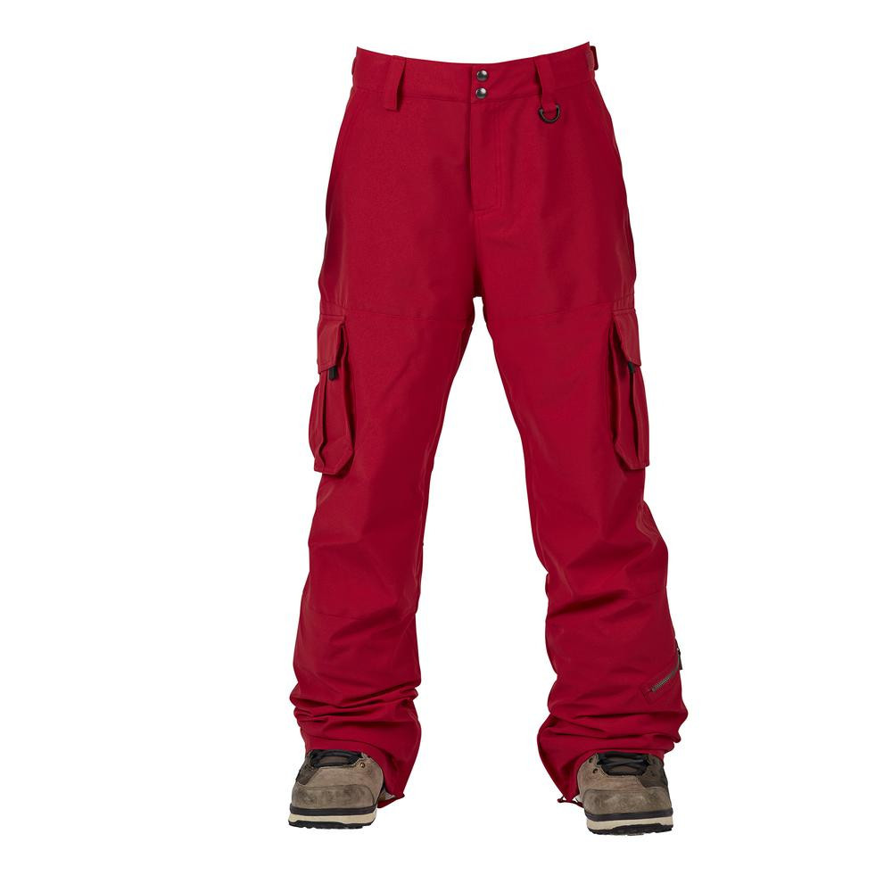 Sessions M Squadron Pant Deep Red